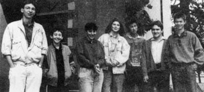 Photo des membres du Groupe Reportage Photo 1988
