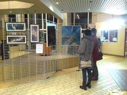 exposition peinture collège Laponetie Aurillac