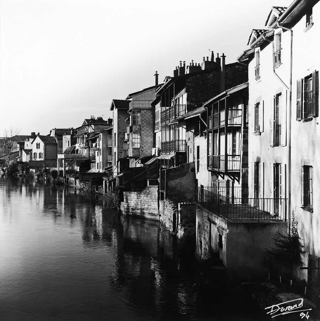 Venise Aurillacoise sur la jordanne Cantal