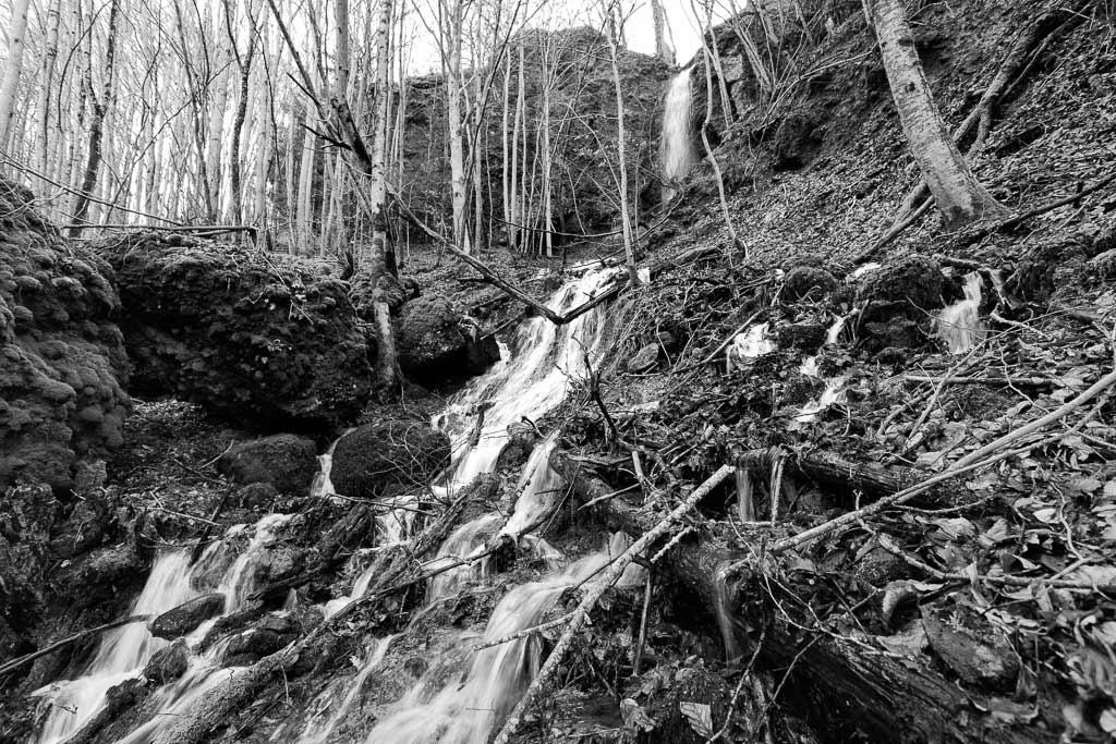 La cascade de Ladrait Vallée de l'Authre