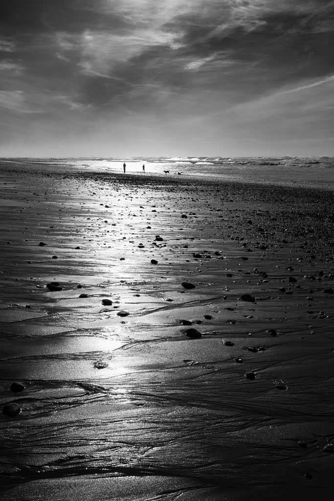 Seul sur la plage Montalivet