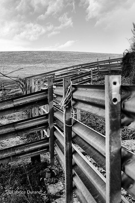 Barrières sur la prairie