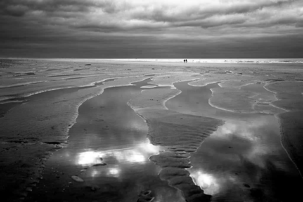 couple bord de mer hivers Montalivet
