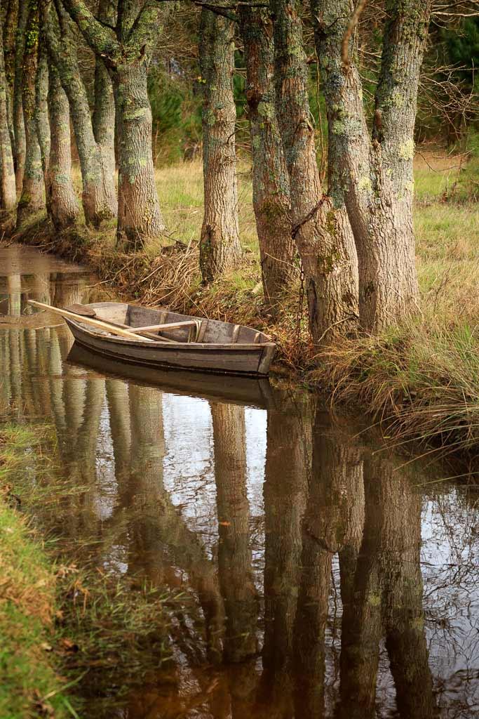 Barque de bois Gironde