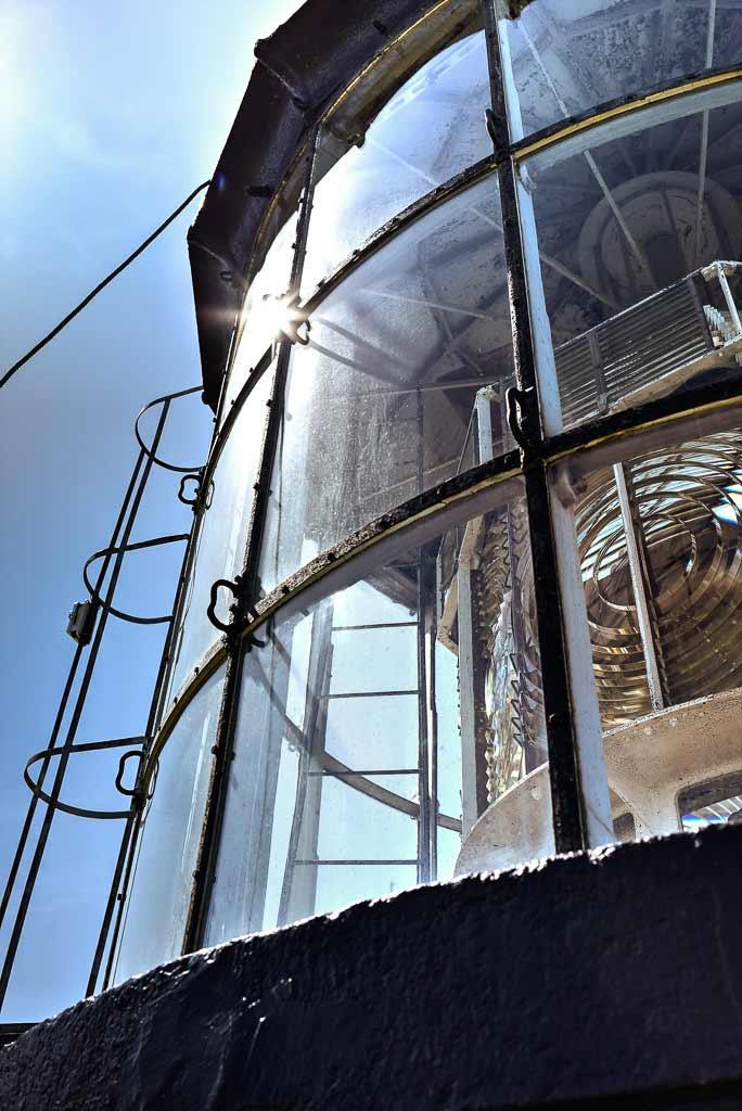 Lampe du phare d'Oleron