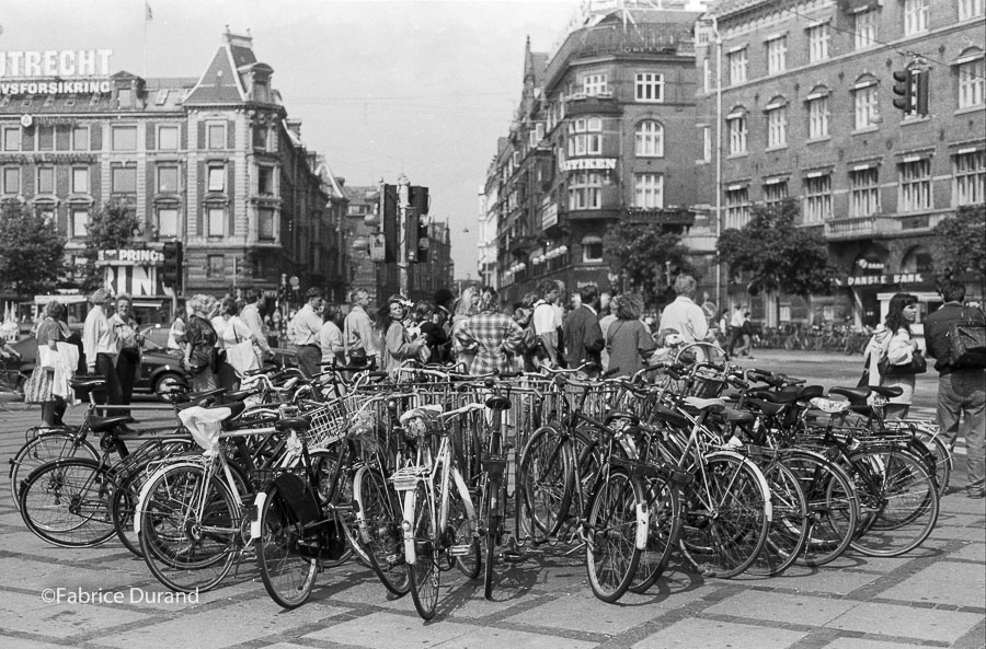 Garage vélo copenhague Danemark