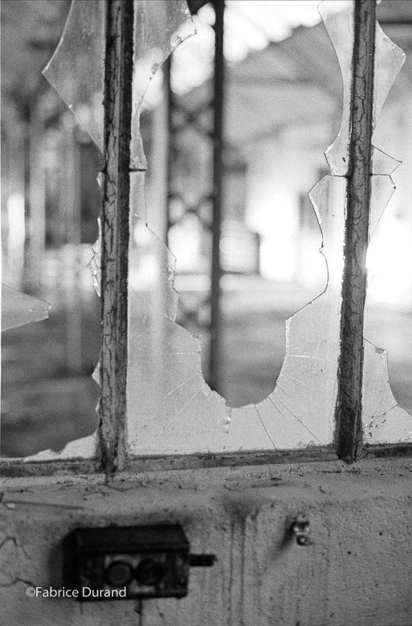 Bureau du contremaitre usine abandonné