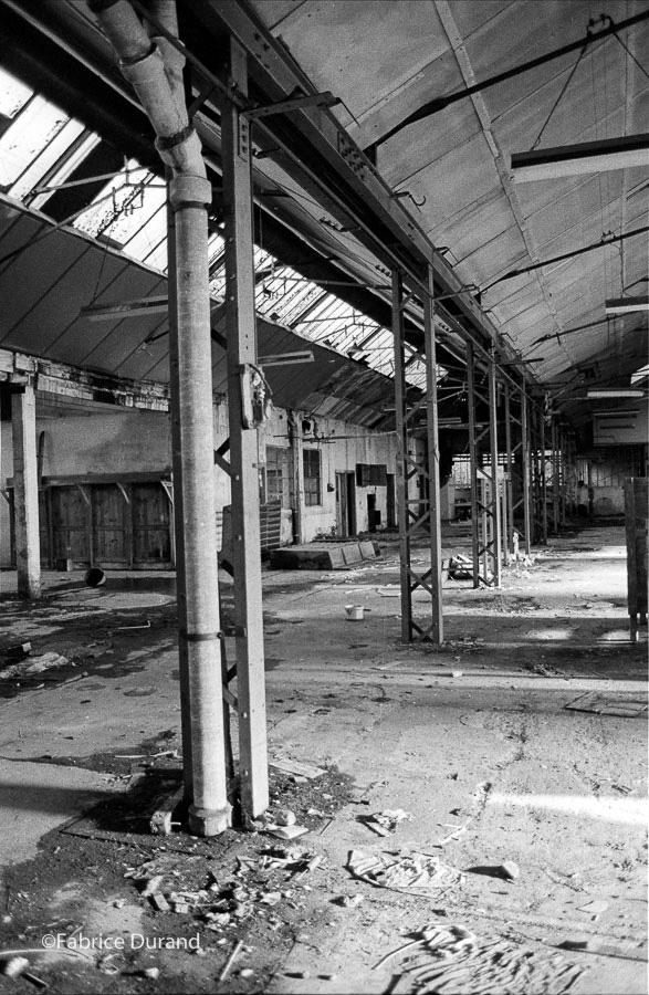 Perspective atelier Usine abandonnée