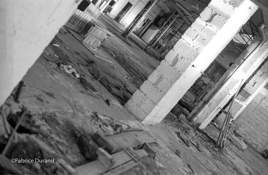 Atelier Usine abandonné