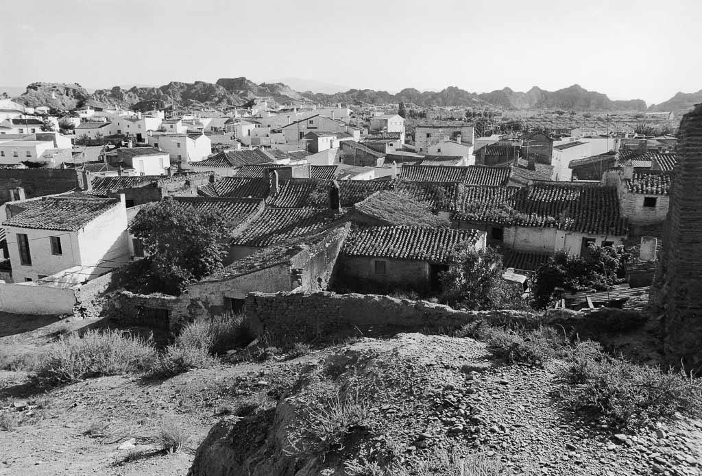Coeur du village troglodyte Espagne