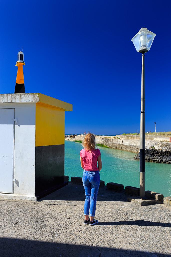 Jeux de couleurs port de la Cotinière